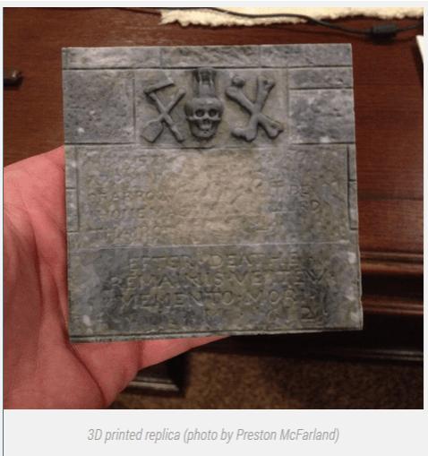 Tombstone Relica