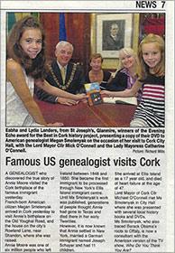 Famous Genealogist Visits Cork