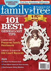 Family Tree Magazine - Heirloom Homecomings