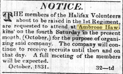 27 October 1831, Roanoke Advocate