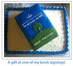 A gift at one of my book signings!