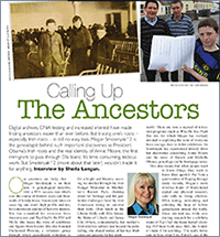 Calling Up the Ancestors: Genealogist Megan Smolenyak