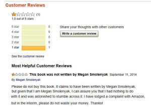 Megan- Book Scam