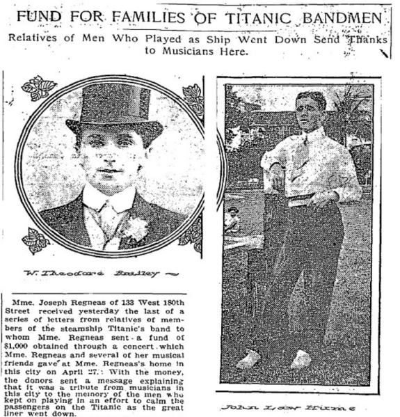 Titanic Musicians Fund
