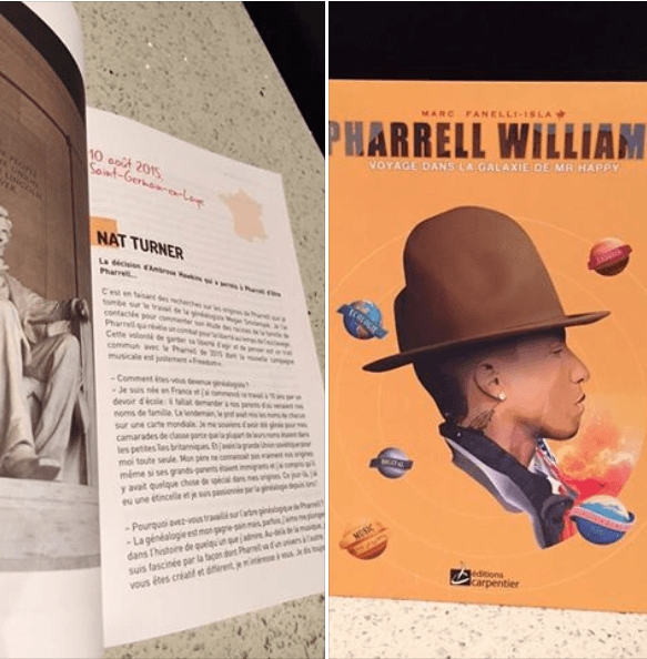 Pharrell Williams book