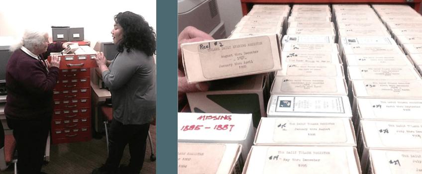 Microfilm Tutoring and Rolls