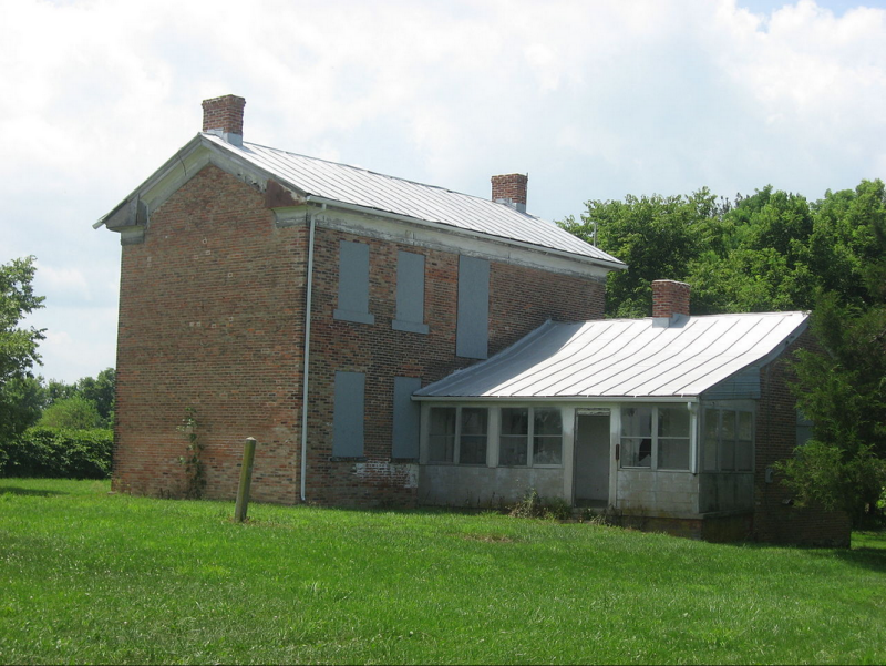 James and Sophia Clemens Farmhouse in Longtown Ohio