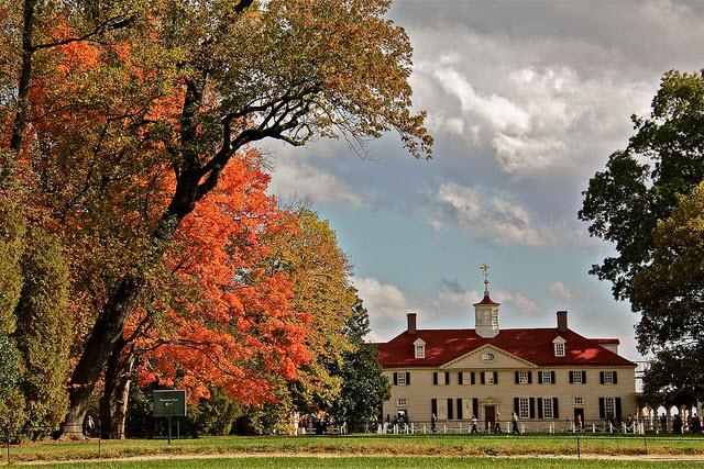 Mount Vernon home of George Washington