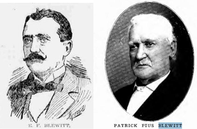 Biden's great-grandfather Edward Francis Blewitt