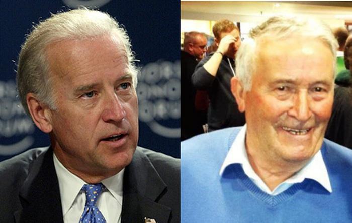 Joe Biden and Brendan Blewitt