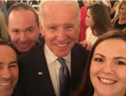 Joe Biden with Irish cousins