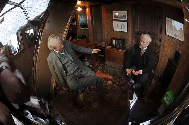 Gustave Eiffel's secret apartment