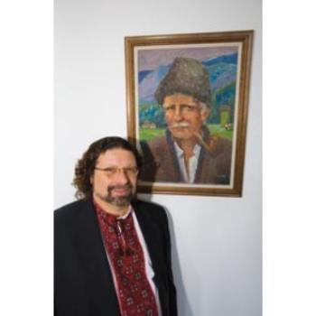 John Righetti, cofounder of the Carpatho-Rusyn Society