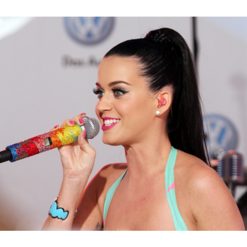 Katy Perry performing in New York City 2010