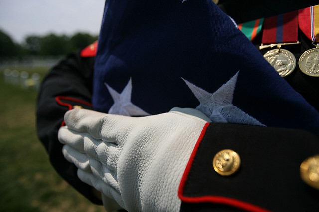 Military Honors at Funeral