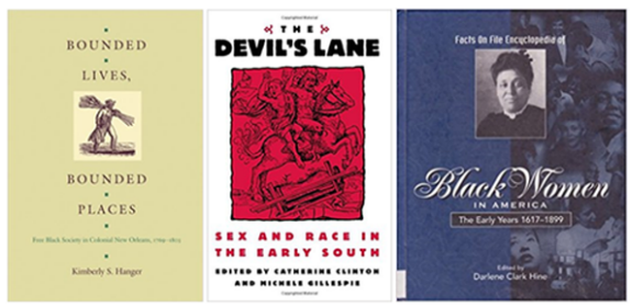 Book Covers for Leah Chase article