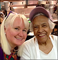 Leah Chase with Megan Smolenyak