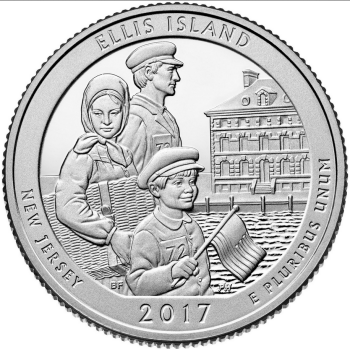 NJ Island of Hope quarter