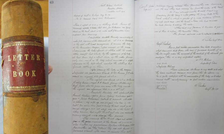 Busselton Letters Book