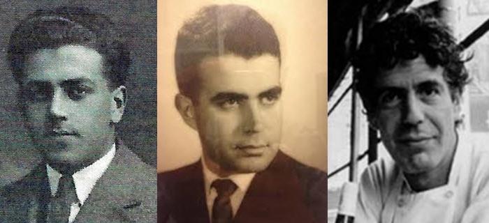 Anthony Bourdain, father, grandfather