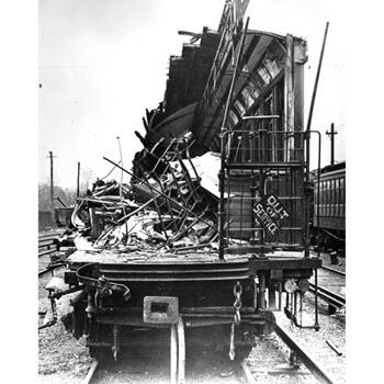 Subway Accident 1918