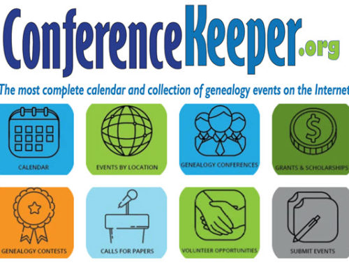 Seton Shields Genealogy Grant #215: ConferenceKeeper.org